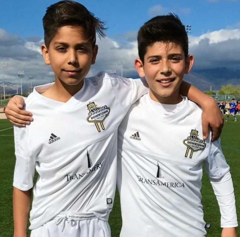 Enrique Avila and Justin Geracci Seleted to the Colorado Rapids 05' Academy team