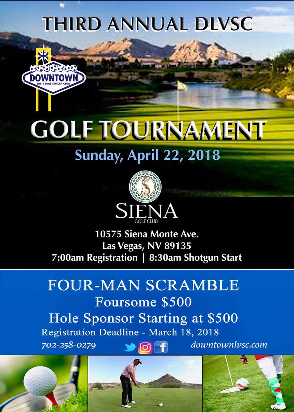 Downtown Las Vegas Soccer Club Golf Tournament
