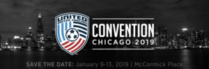 United Soccer Coaches Convention @ McCormick Place in Chicago