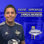 DLVSC APPOINTS CAMILO VALENCIA TO THE TECHNICAL TEAM AS COLLEGE PATHWAY PROGRAM DIRECTOR