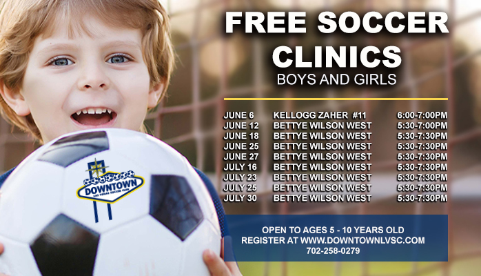 Free Soccer Clinics Boys and Girls @ Bettye Wilson West | Las Vegas | Nevada | United States