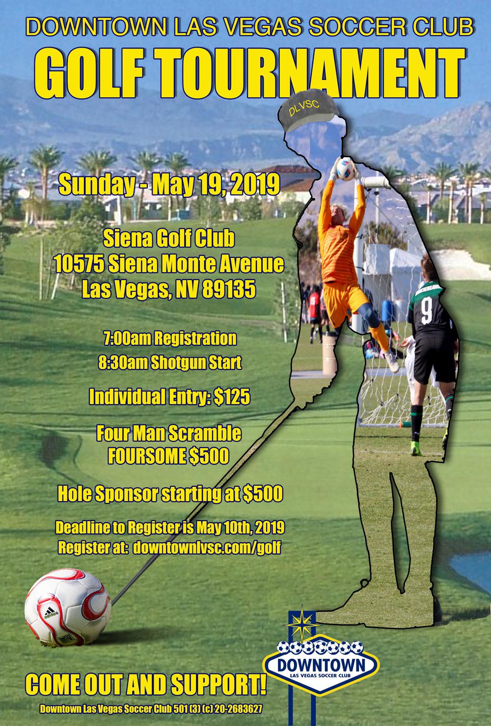 4th Annual DLVSC Golf Tournament @ Sienna Golf Clib