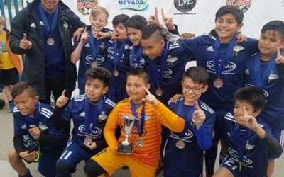DLVSC 07 Navy are 2019 Nevada Jr. Cup Champs