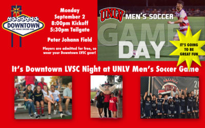 Downtown LVSC Night at UNLV Men's Soccer