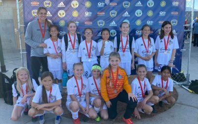 DLVSC 09 Girls Reach The Finals of the Las Vegas Mayor's Cup
