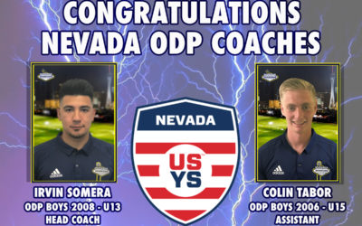 Downtown LVSC Coaches Named As NV ODP Coaches
