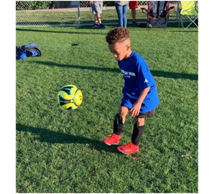 Kids should play soccer to have fun